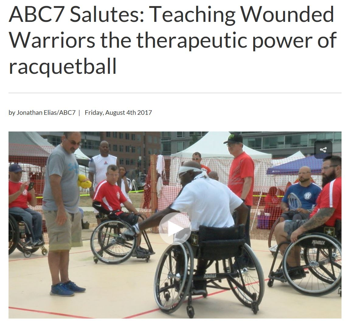 2017 ABC7 Military Racquetball Federation