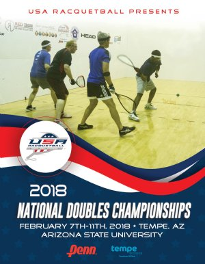 2018 US National Doubles Racquetball