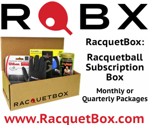 RacquetBox Racquetball Subscription Service