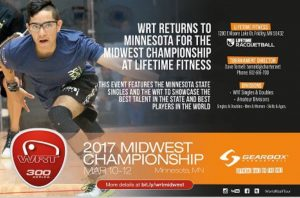 World Racquetball Tour Midwest Championship 2017