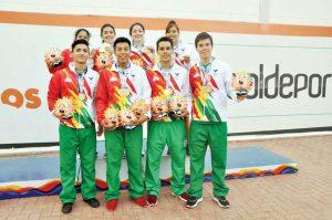 2017 Juegos Bolivariano Racquetball