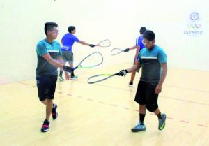 International Racquetball Federation Bolivia Doubles Team
