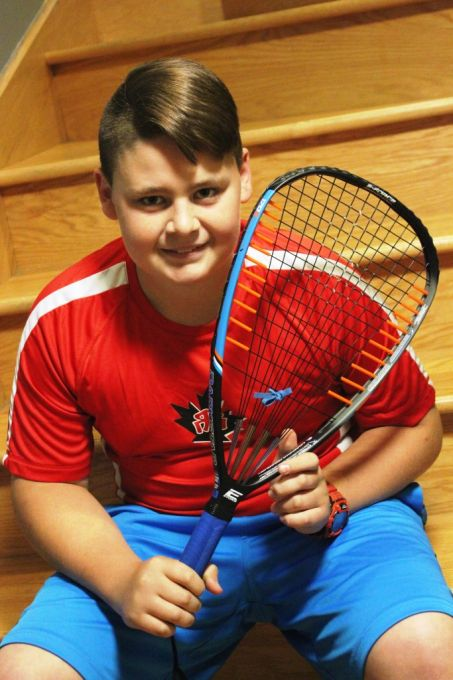 Nathan Jauvin Racquetball Player