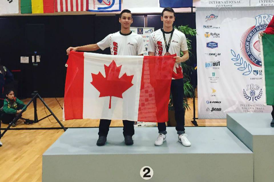 Canada 18 and Under Doubles 2017 Junior World Championships