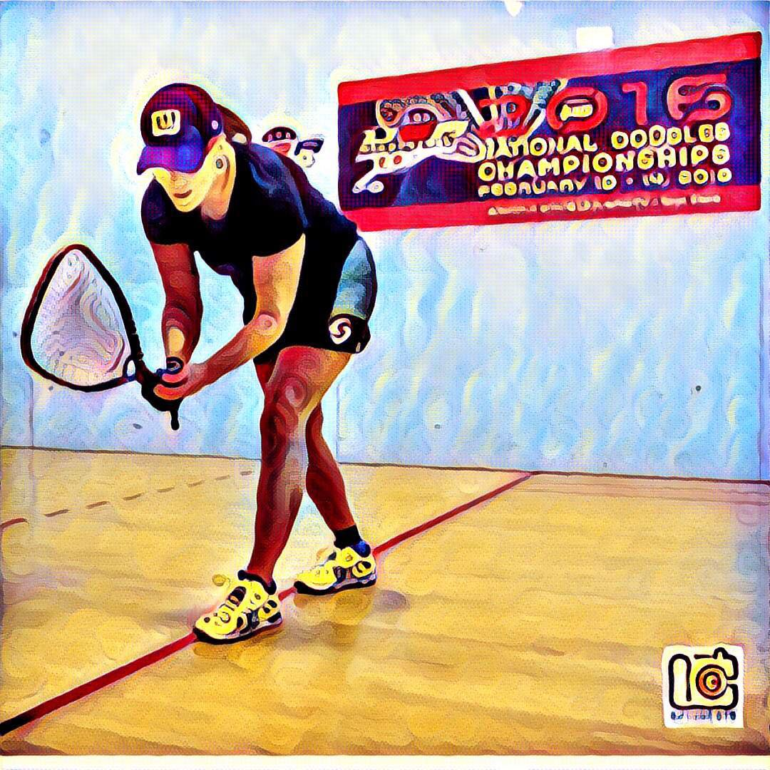 Cheryl Gudinas Racquetball