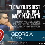 2018 World Racquetball Tour Georgia Open