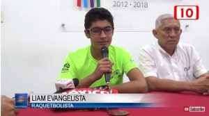 Canal 10 Racquetball Interview