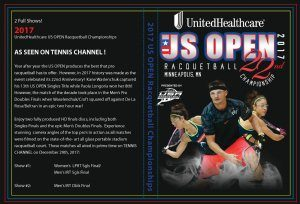 US Open DVD 2017