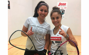 Paola Longoria Alexandra Herrera LPRT Racquetball Tournament 2017 Christmas Classic