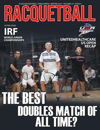 USA Racquetball Magazine Winter 2017