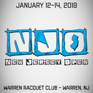 New Jersey Open Racqeutball Tournament 2018