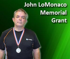 John LoMonaco Racquetball Grant
