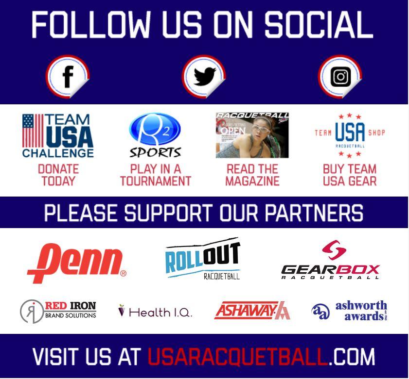 USA Racquetball Constant Contact Scholarship