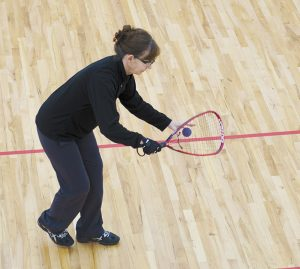 YMCA Fergus Falls Racquetball Player