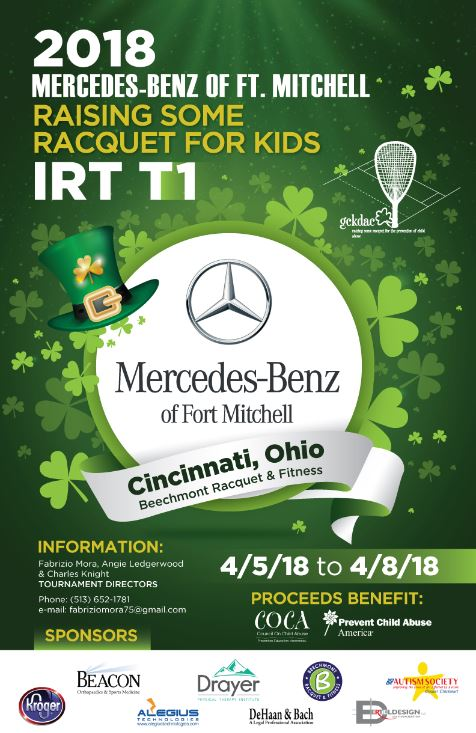 2018 IRT Ohio Racquetball