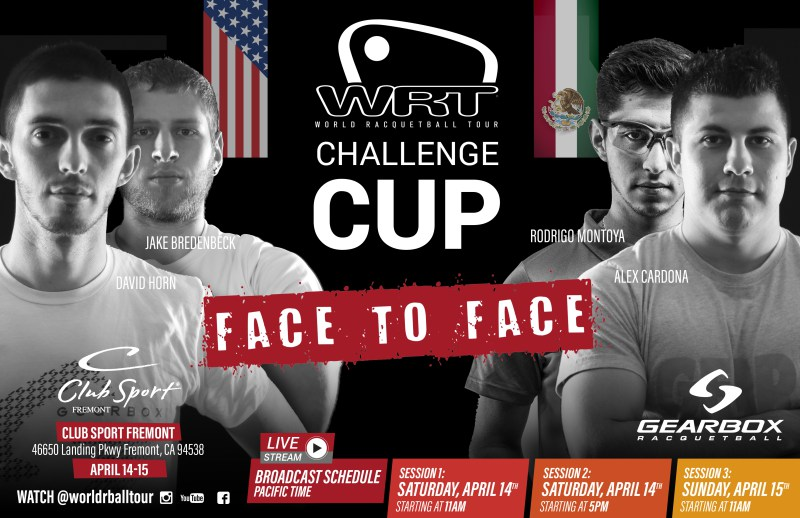 World Racquetball Tour Challenge Cup Fremont 2018