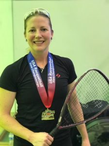 Chantel Anderson Racquetball Player