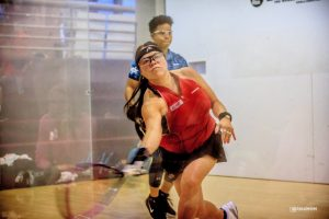 Jacqueline Paraiso-Larsson Racquetball Professional Photographed by Jeff Gallemore