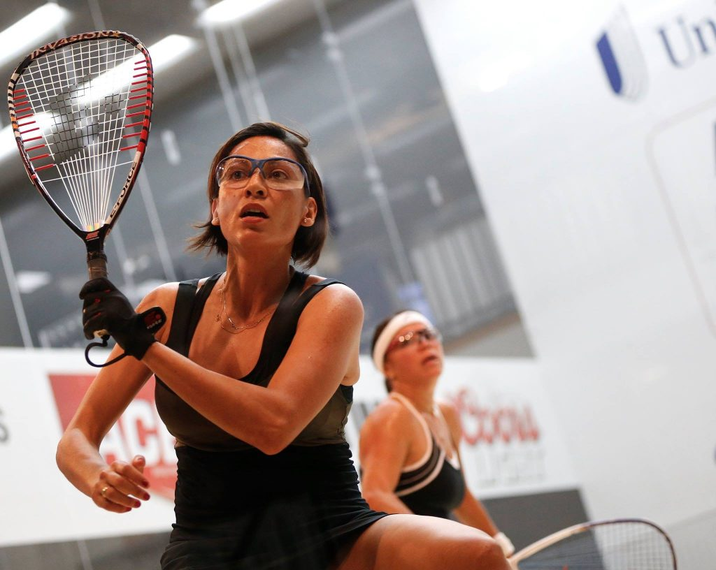 Susy Acosta Raquetball Pro at the United Healthcare US Open by Freddy Ramirez