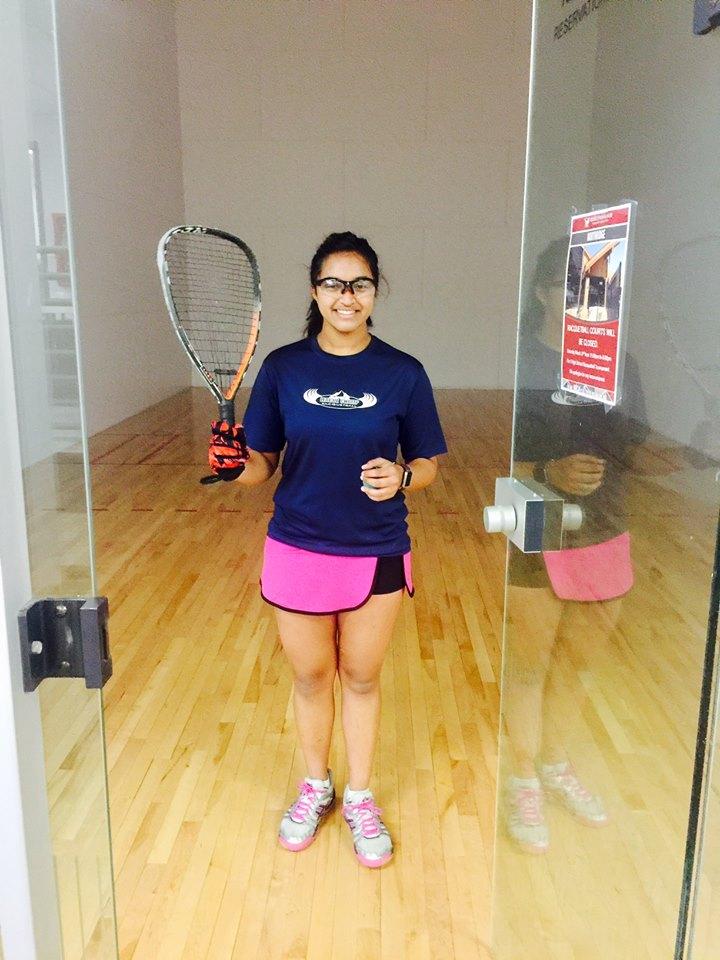 Racquetball Khyathi Velpuri