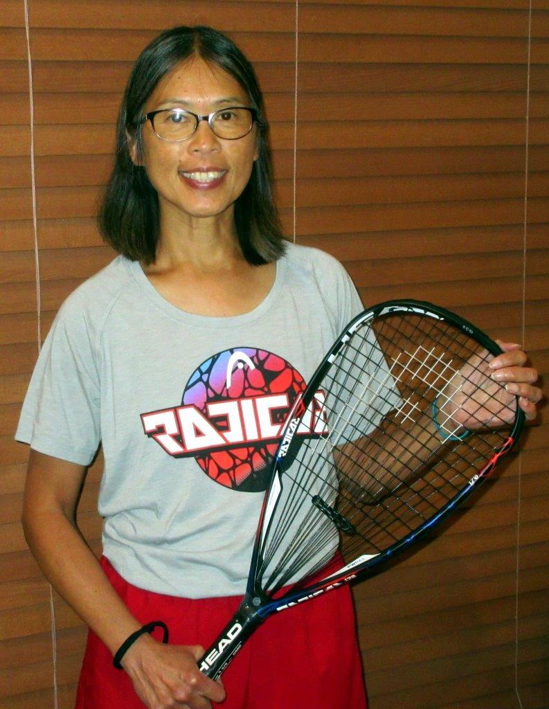 Nancy Luyando Racquetball