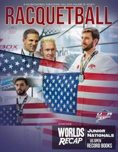 USA Racquetball Magazine Fall 2018