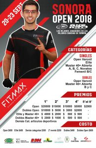 Sonora Open Racquetball Tournament 2018