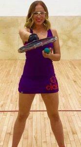 Eleni Guzman Racquetball
