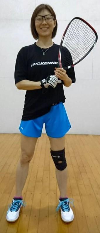 Maiko Sato Racquetball