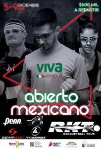 Abierto Mexicano De Raquetbol 2018