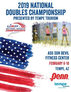 USA Racquetball National Doubles 2019