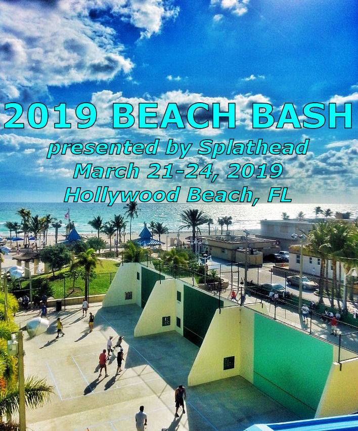 2019 Beach Bash Racquetball Tournament