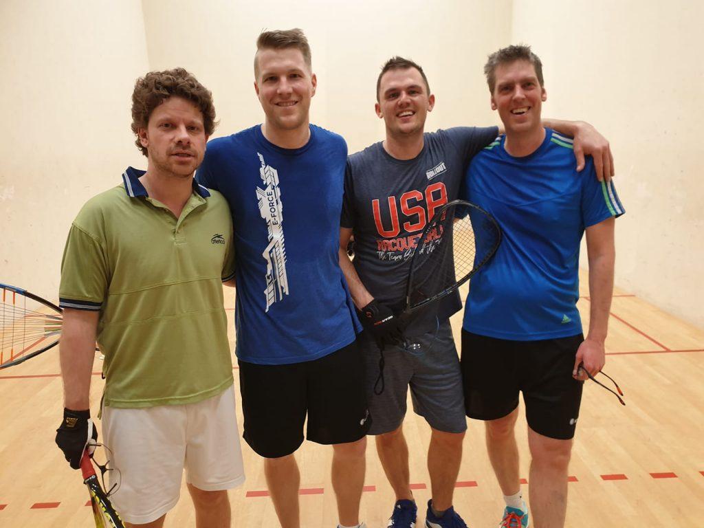 Marcel Czempsiz Arne Schmitz Racquetball Team