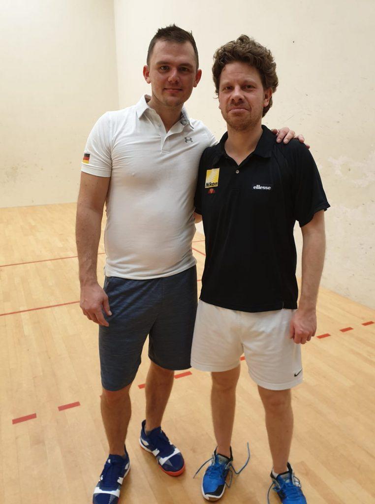 Marcel Czempsiz wins 2019 Dutch Open Racquetball Tournament