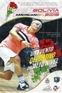Open Bolivia American Iris International Racquetball Tour