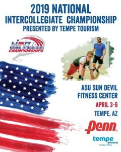 2019 Intercollegiate Racquetball Championships