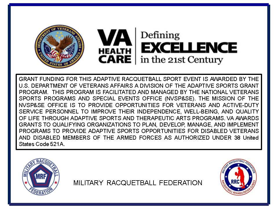 Veterans Administration Military Racquetball Federation