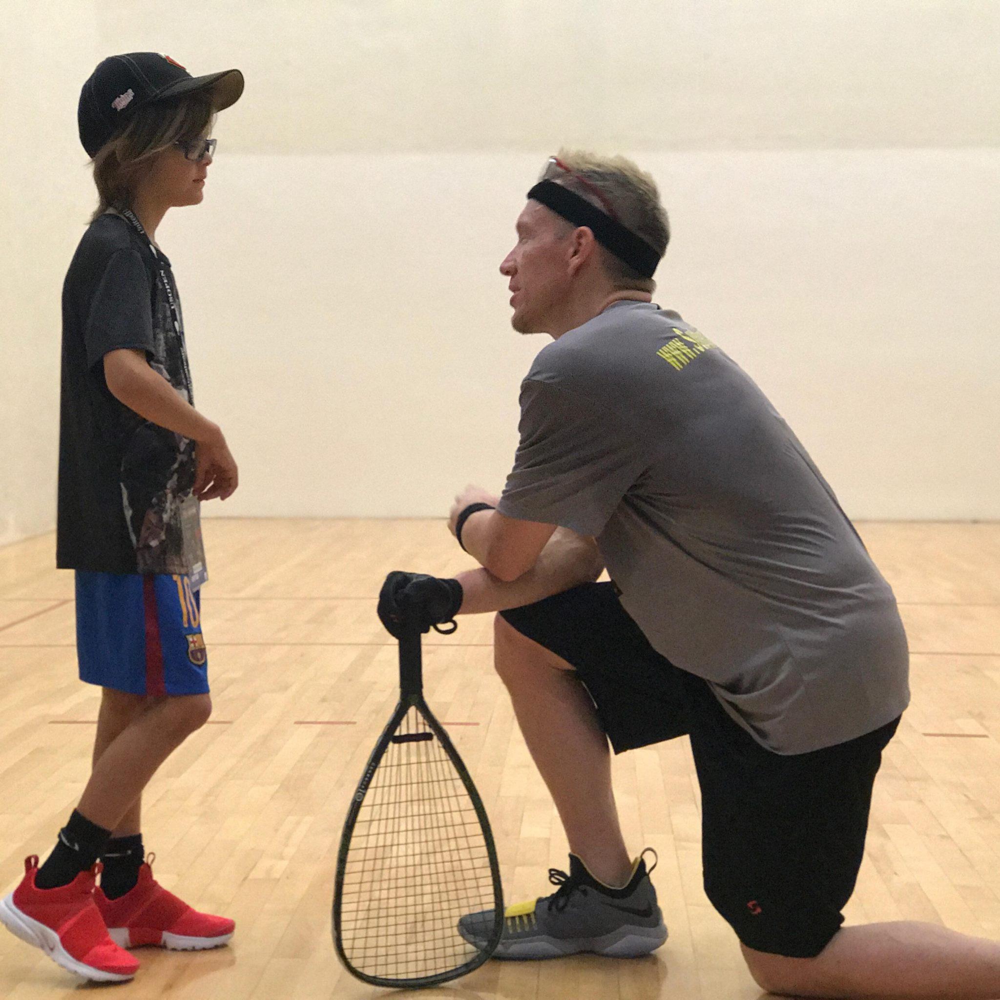 Sudsy Monchik Racquetball Coach