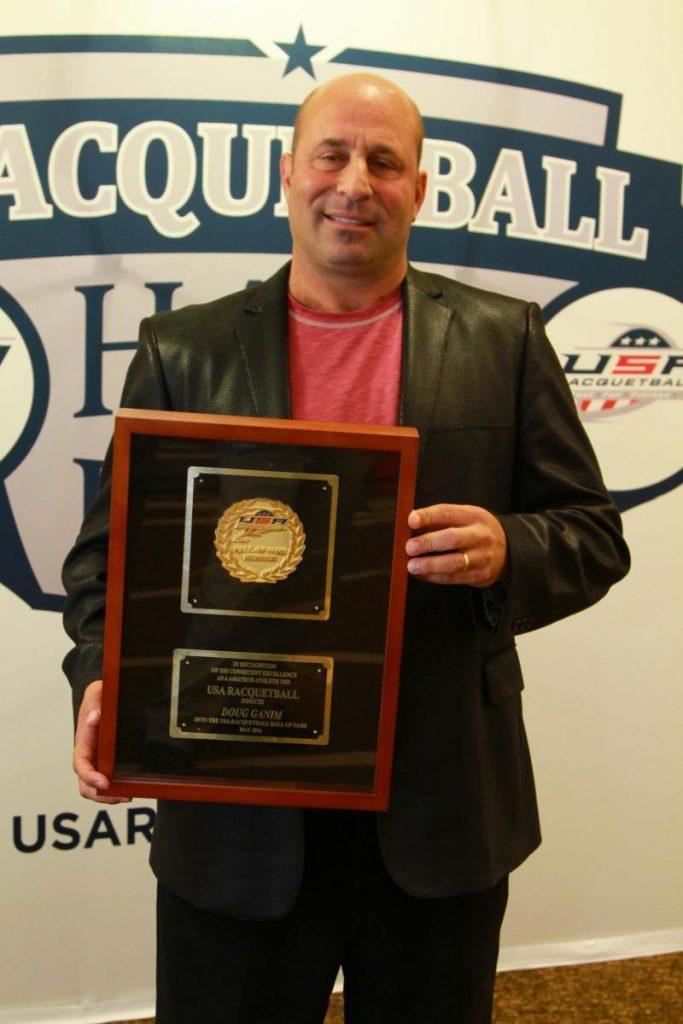 Doug Ganim Racquetball Organizer