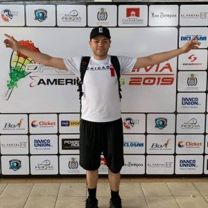 MoMo Zelada Racquetball Player