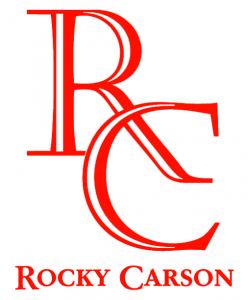 Rocky Carson Racquetball Logo