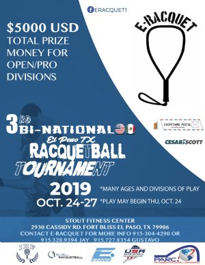 3rd Bi National Racquetball Tournament