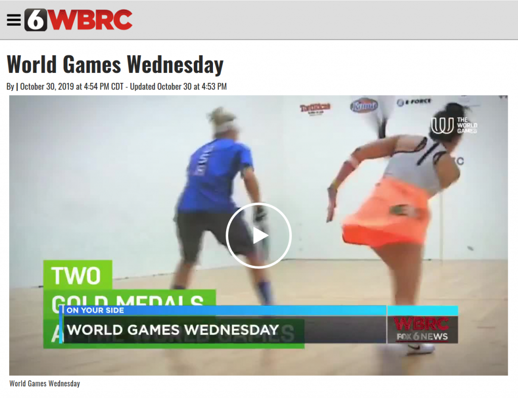 World Games Wednesday Video Link Photo