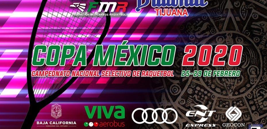 Copa Mexico 2020 Racquetball Tournament