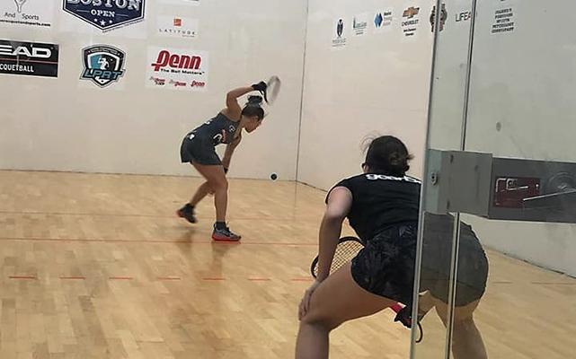 El Sol De San Luis Paola Longoria Frederique Lambert Boston Open Racquetball