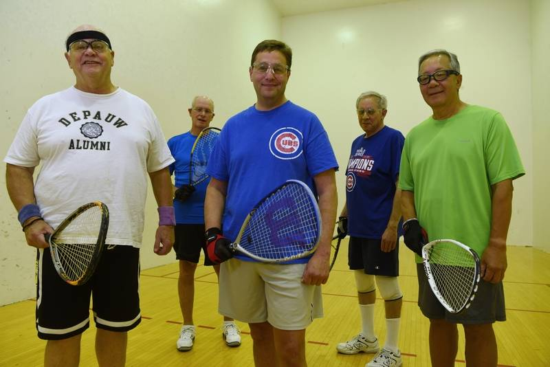Playing Racquetball For 40 Years