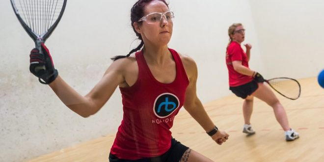 Donna Ryder 2017 European Racquetball Champion