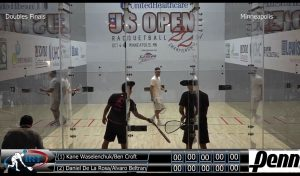 2017 UnitedHealthcare US Open Pro Racquetball Doubles Final