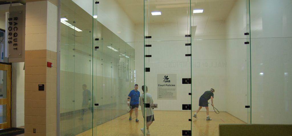 University of Alabama Birmingham Racquetball Courts