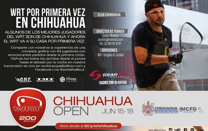 World Racquetball Tour Chihuahua Open 2017